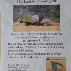 HØSTFEST I SH. LYNDELSE